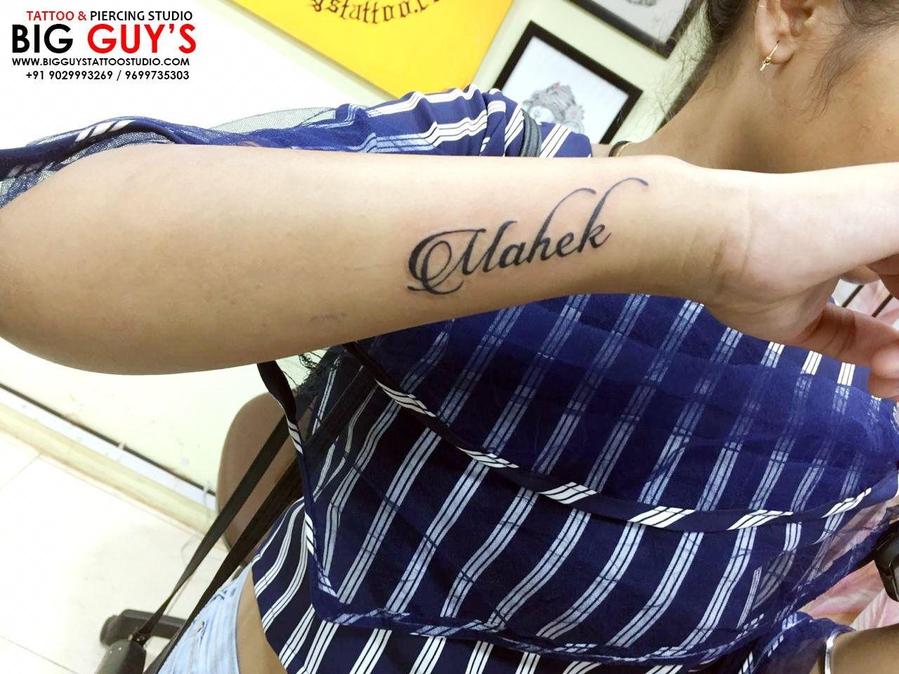 Mahek Tattoo Done By Big Guys Tattoo Studio Name Tattoos On Wrist Tattoos For Guys Heartbeat Tattoo On Wrist