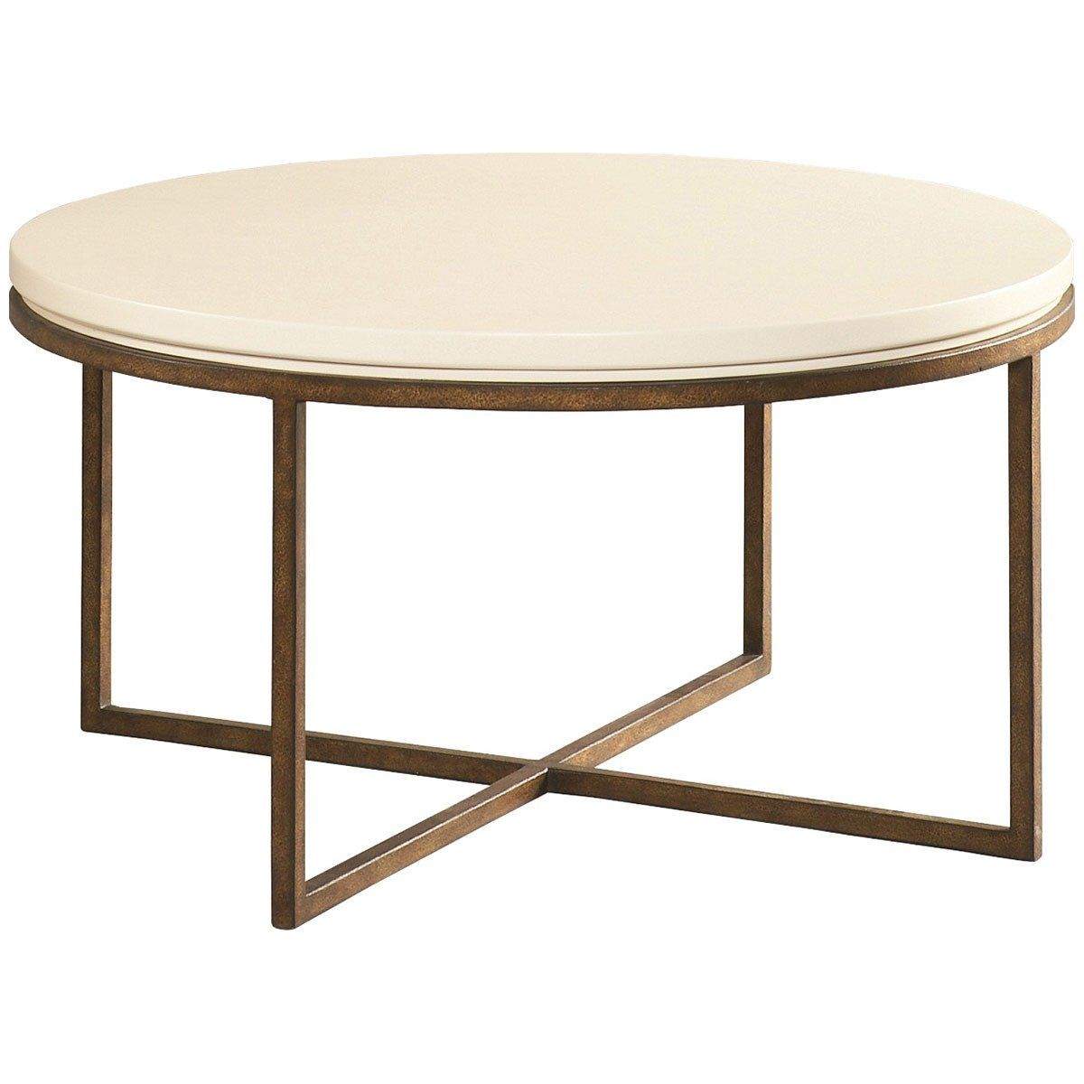 Cth Sherrill Occasional Round Cocktail Table 322 830 Round Cocktail Tables Table Transitional Coffee Table [ 1200 x 1200 Pixel ]