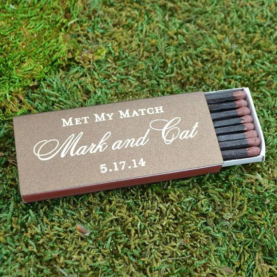 Custom Wedding Matchboxes Wedding Cigar Bar Personalized Matches Foil Printed Matchboxes 50 Personalized Cigar Matches