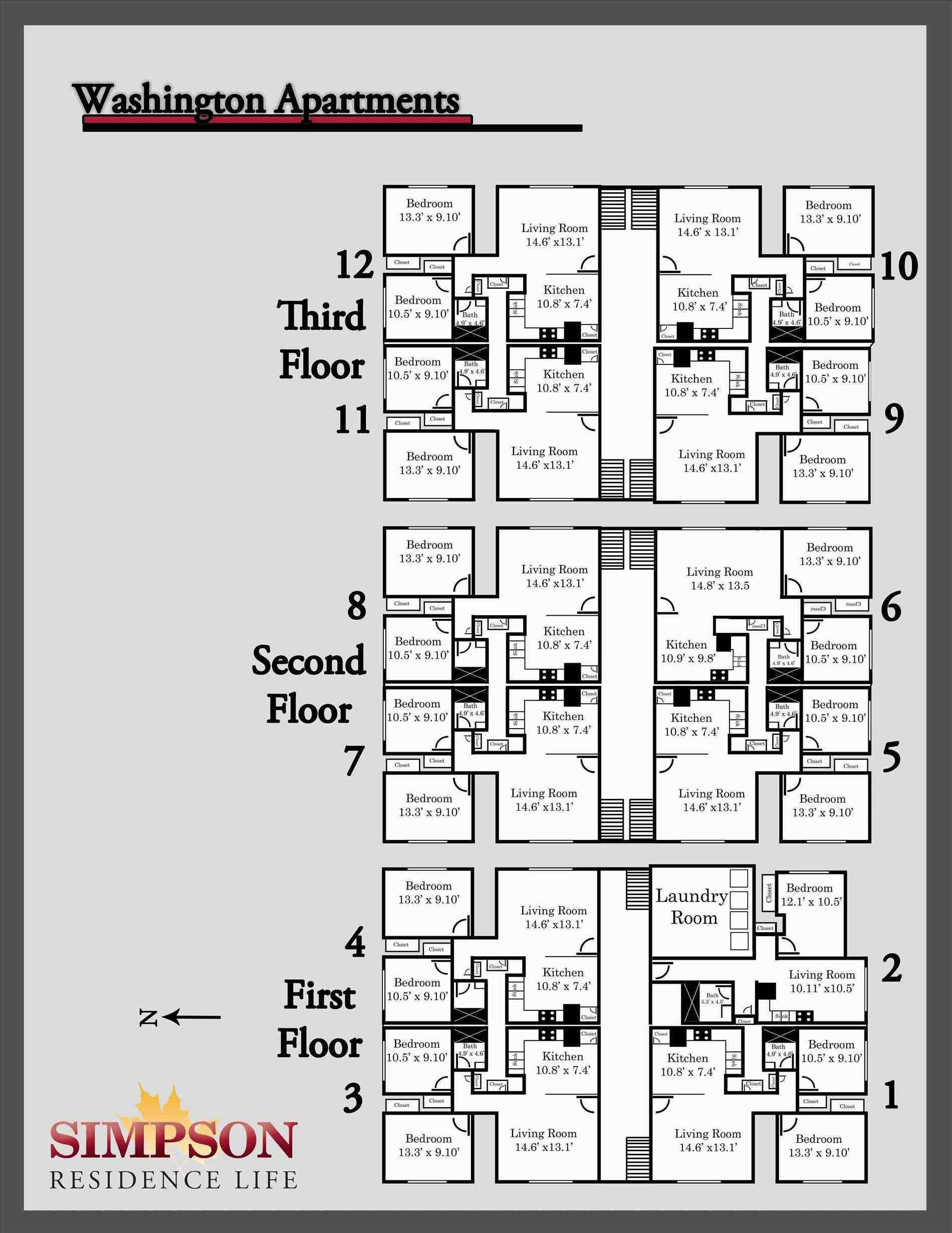 2 Bedroom Apartment Building Floor Plans Cool 10 2 Floor House Plans 3d On Architecture M Apartment Building Studio Apartment Floor Plans Floor Plan Design