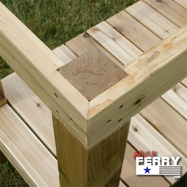 Workbench Build / Potting Bench – with Unique Joinery (ep89)