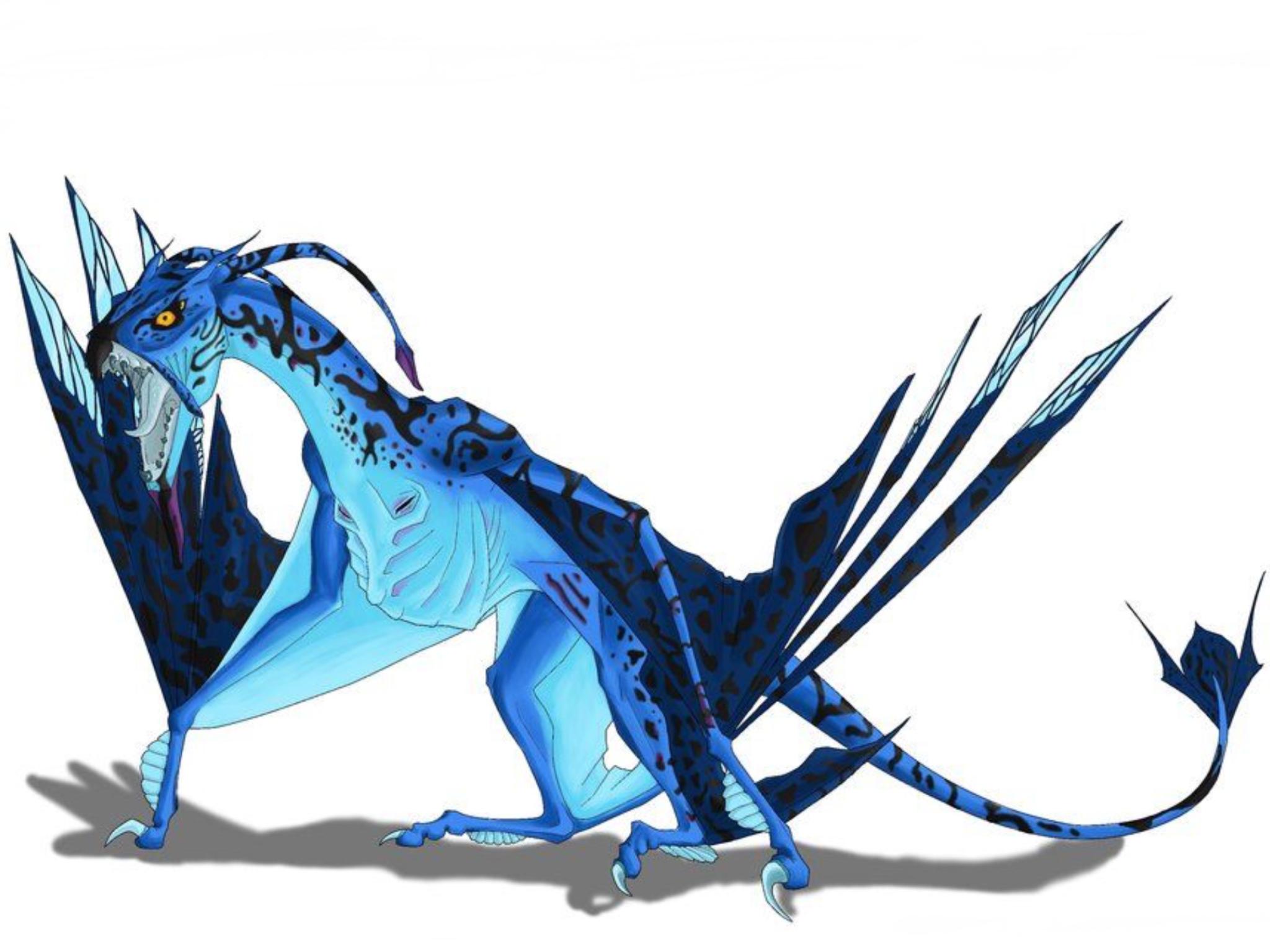 всех драконы из аватара картинки них