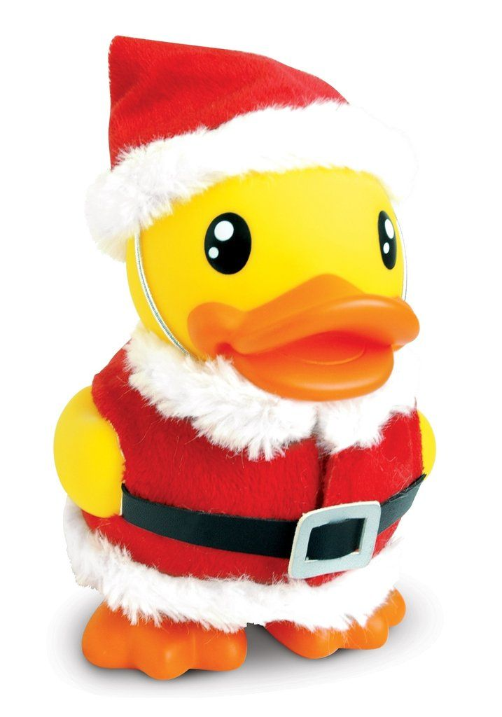 B Duck Santa Duck Savings Bank Money Box Rubber Duckies