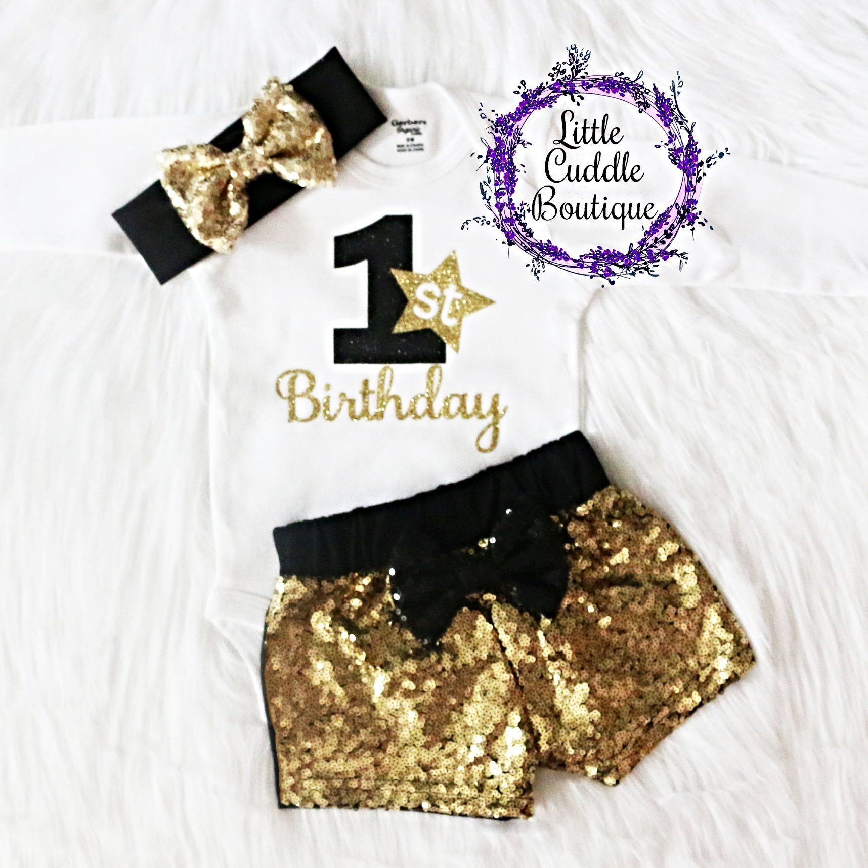 New Year S Birthday Baby Shorts Outfit Baby New Year New Years Eve Toddler 1st Birthday Outfits