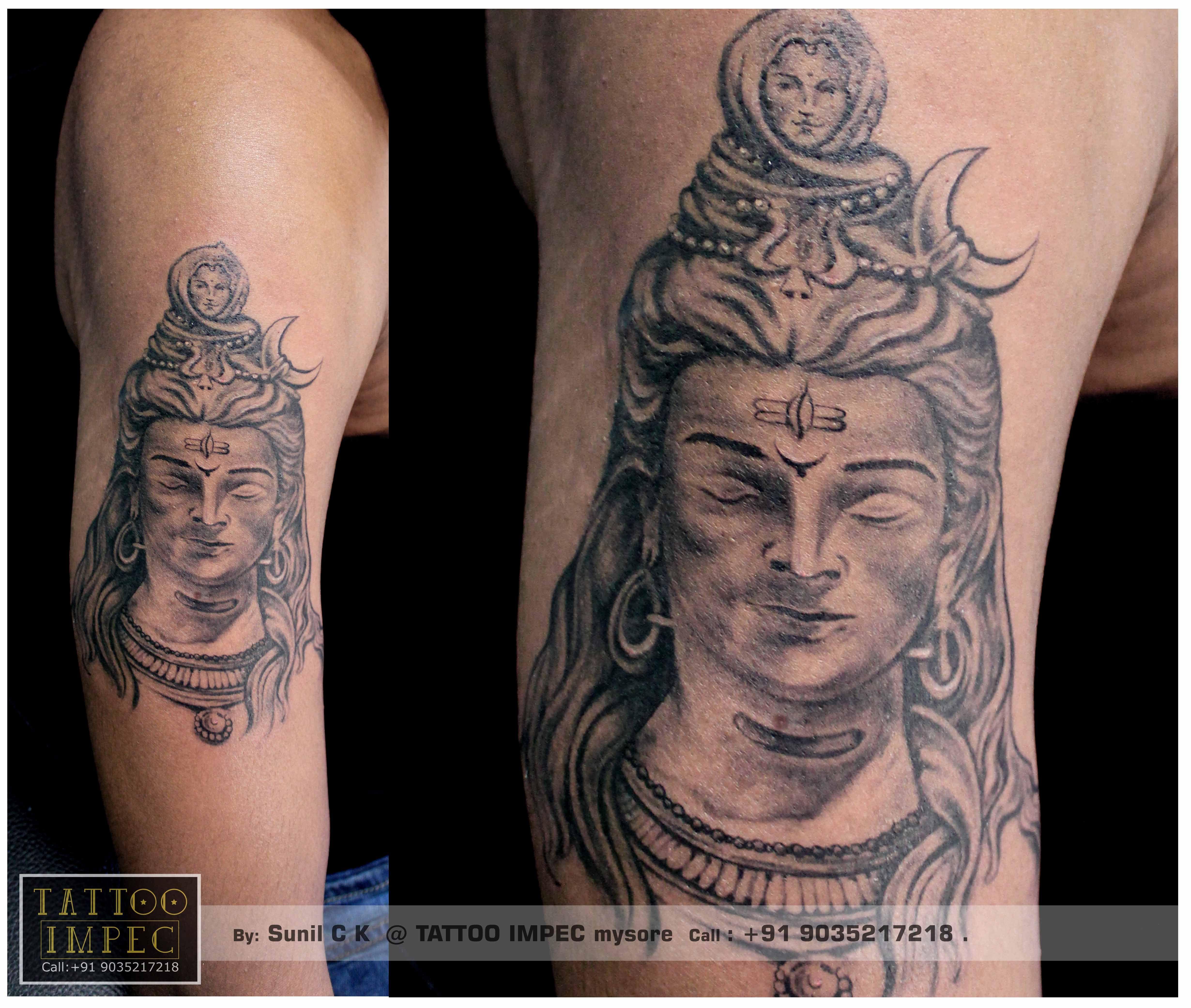 Tattoo Designs God Shiva: Pin By Tattoo Impec In Mysore On TATTOO IMPEC Works