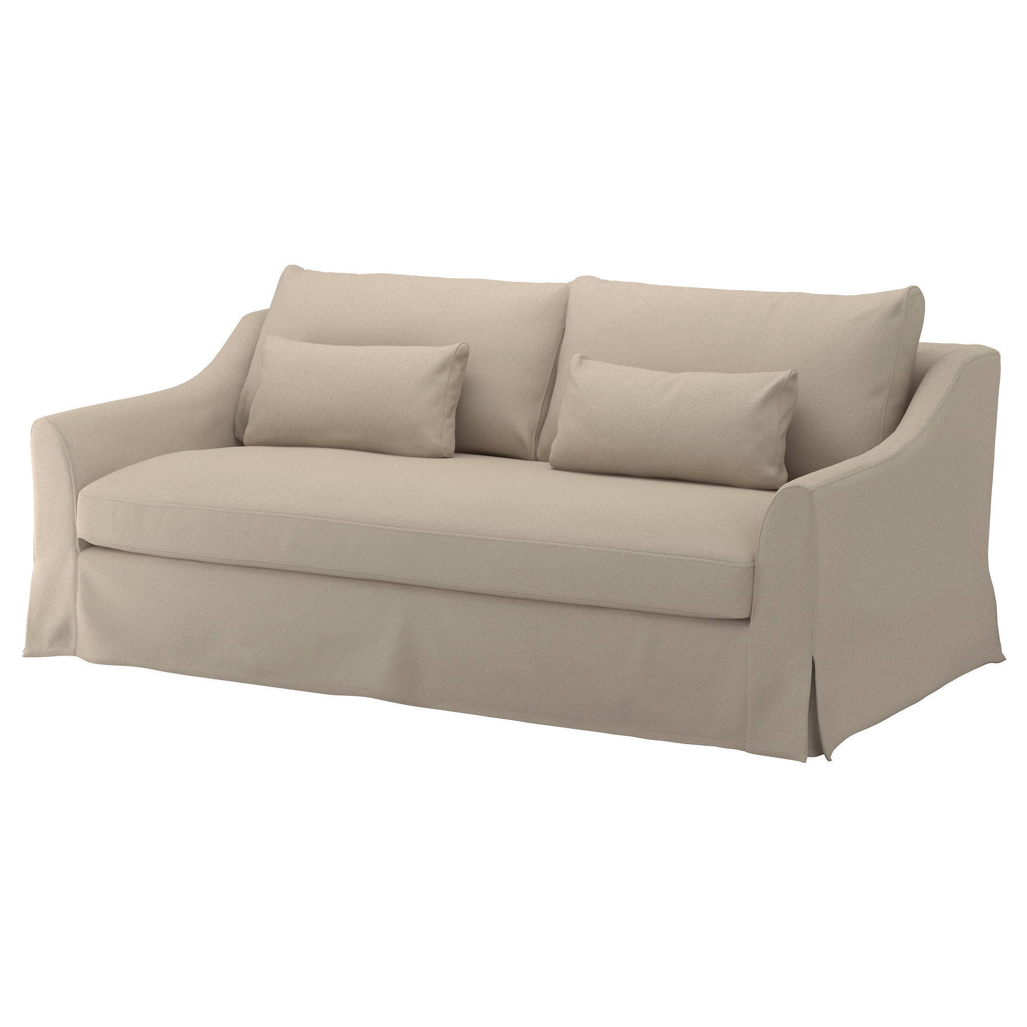 FÄRLÖV Sofa Flodafors beige | Sofa, Fabric sofa