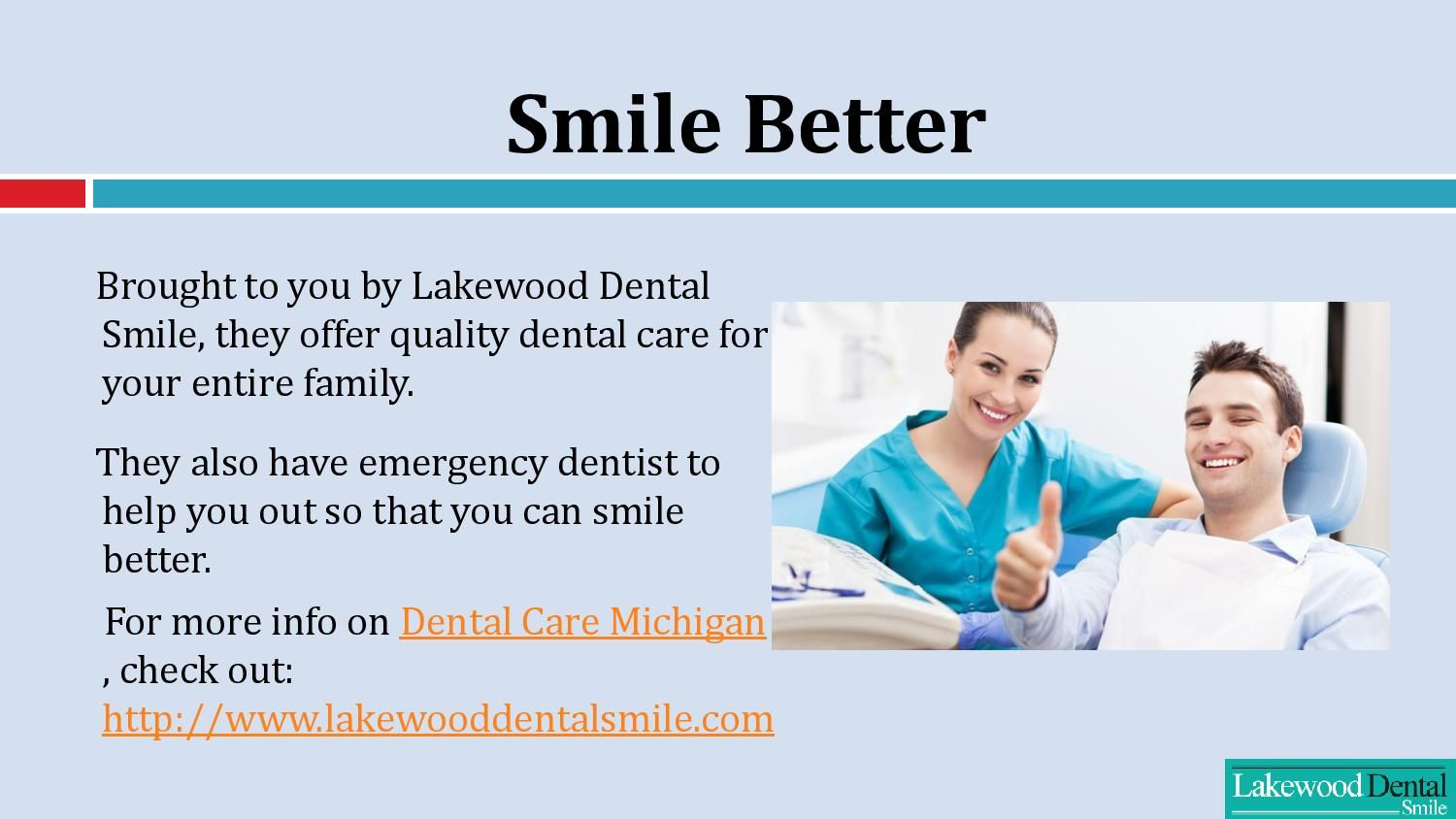 Lake wood Dental Smile is a professional and affordable
