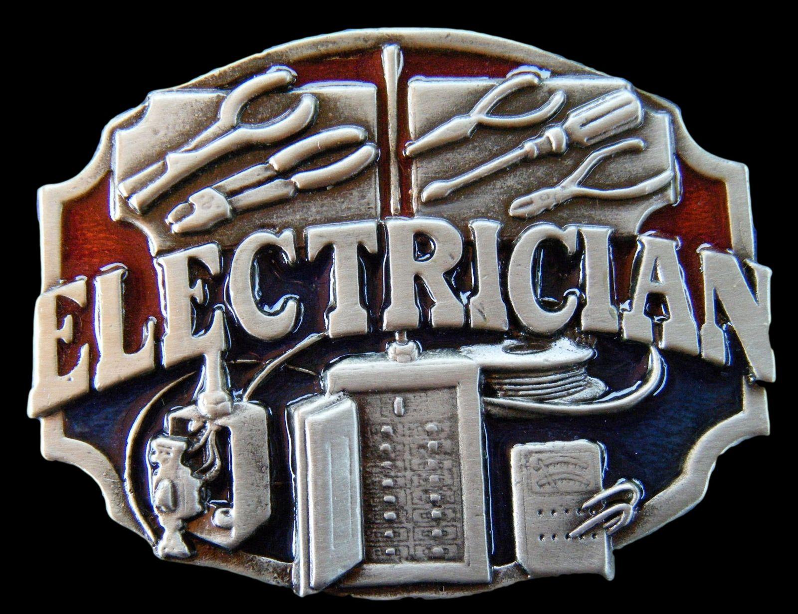 Buckle Electrician électricien boucle de ceinture électricien