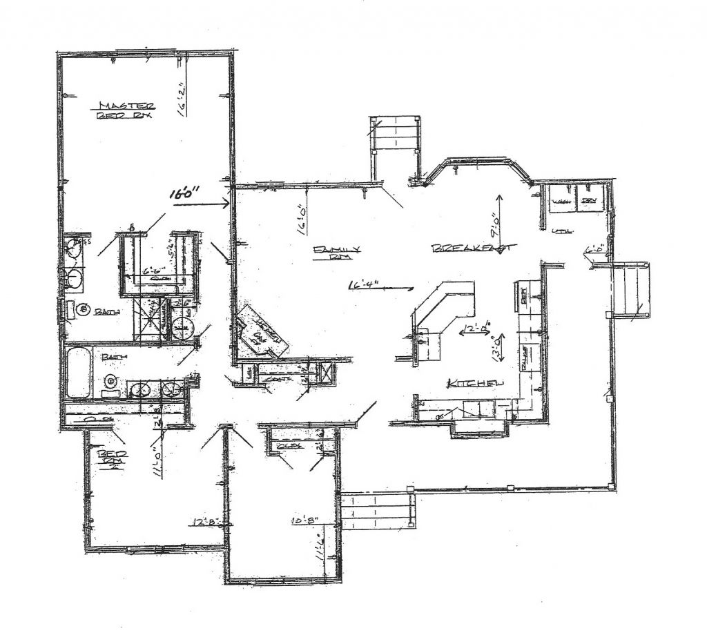 One Story Ranch House Plans With Wrap Around Porch Arts Duplex Bedroom Ranch House Plans Farmhouse Plans House Plans