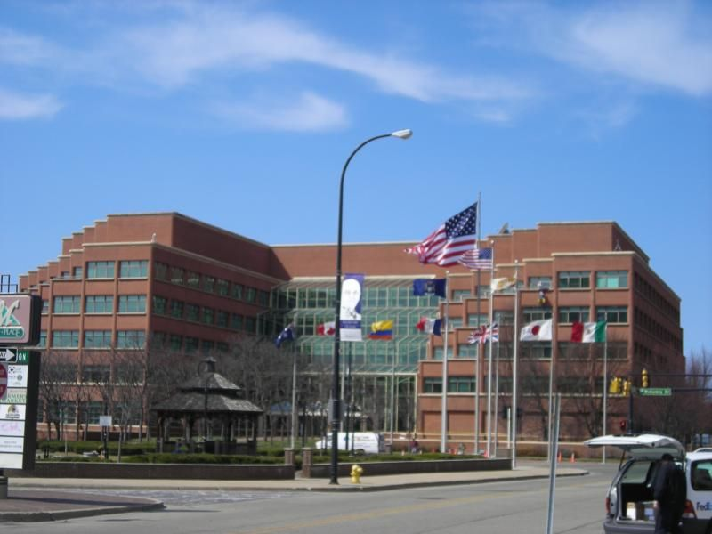 The Kellogg Company Headquarters In Battle Creek Michigan