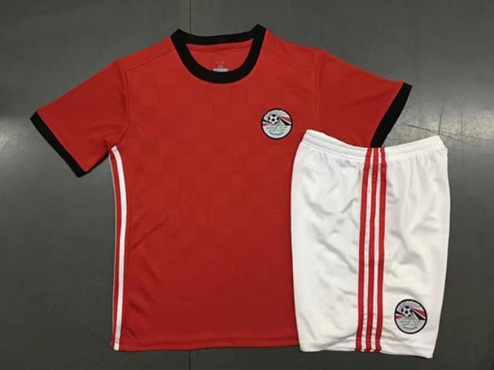 0c5529dee Kids 2018 Egypt World Cup Home Kit