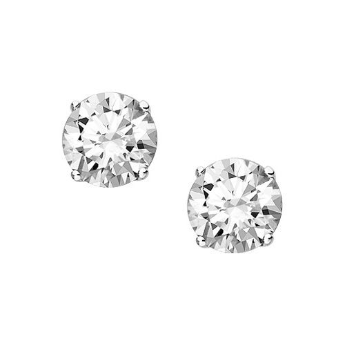 Fred Meyer Jewelers 1 Ct Tw Forever Ideal Diamond Solitaire Earrings