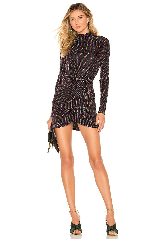 House Of Harlow 1960 X Revolve Rya Long Sleeve Dress In Noir Long Sleeve Dress Revolve Dresses House Dress [ 1450 x 960 Pixel ]