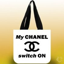 My Chanel Switch on Tote Bags