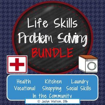 Life Skills Problem Solving Bundle Save Life Skills Worksheets