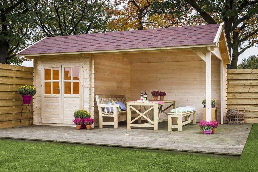 Gartenhaus Kenzo in 2020 Garten terrasse, Gartenhaus und