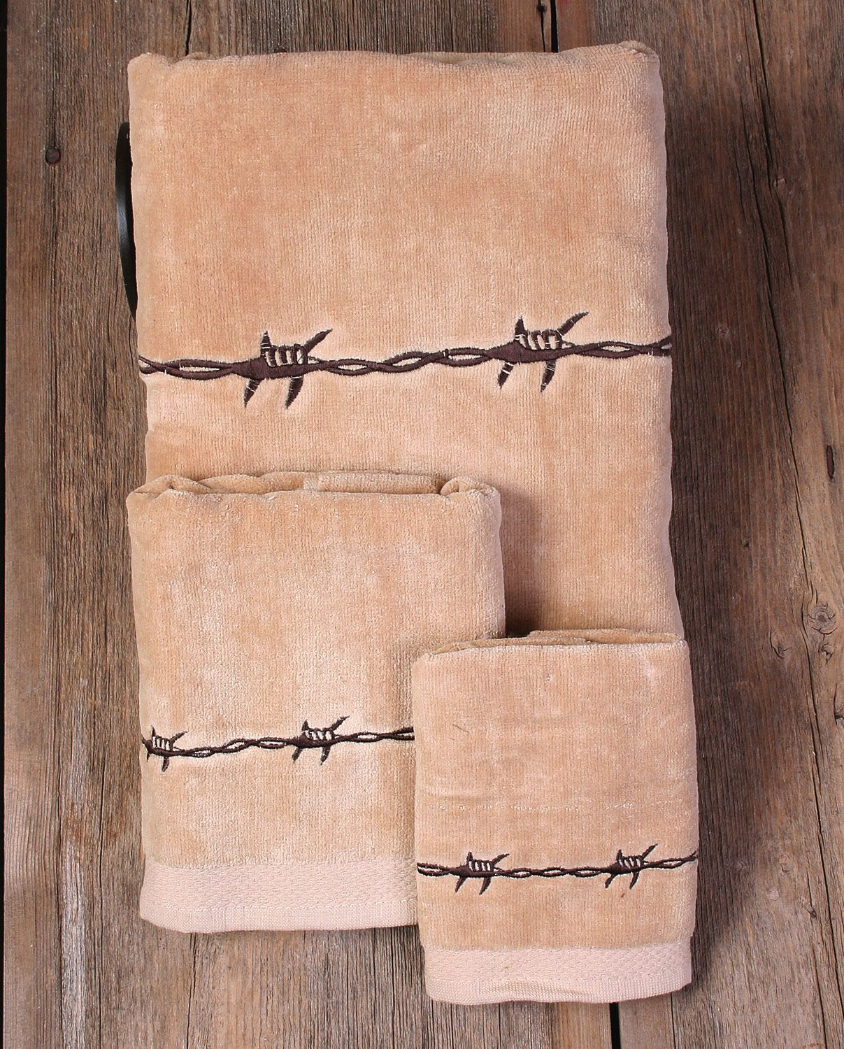 Moss Brothers Inc Barbwire Bath Towels Pc Set Bathware - Paper hand towels for bathroom for bathroom decor ideas