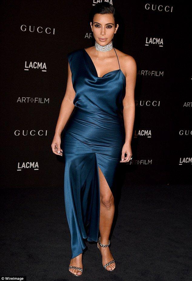 Kim Kardashian has a fashion misstep in ill-fitting dress at gala