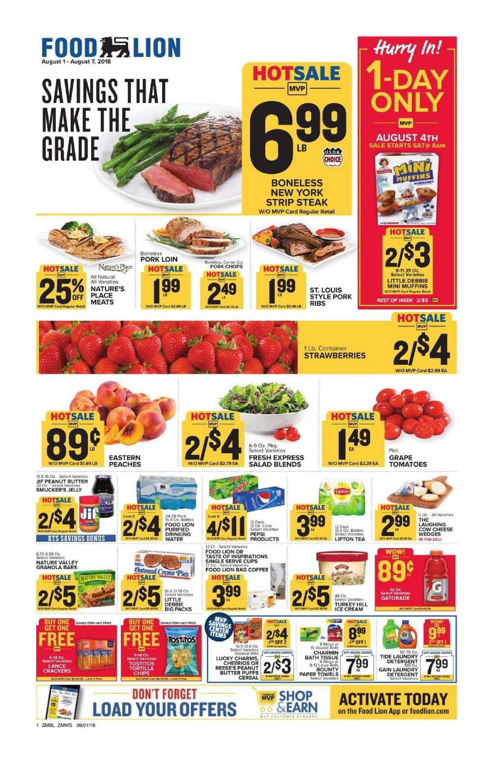 Food lion weekly ad flyer feb 26 mar 03 2020 food