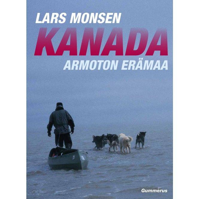 Kirja KANADA - ARMOTON ERÄMAA - Partioaitta -kirja - joululahjavinkki - joululahja - christmas - present www.partioaitta.fi