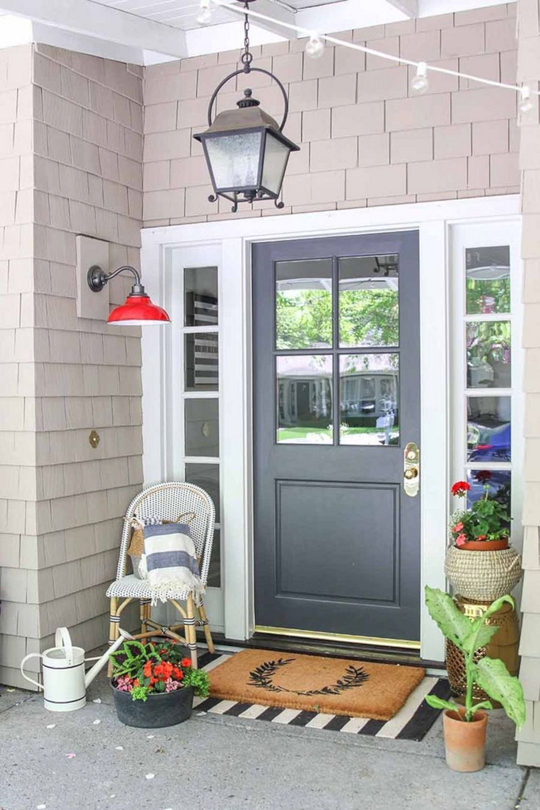 Front Porch Ideas To Add More Aesthetic Appeal To Your Home: 20 Most Popular Summer Front Porch Decoration Ideas Trend 2020