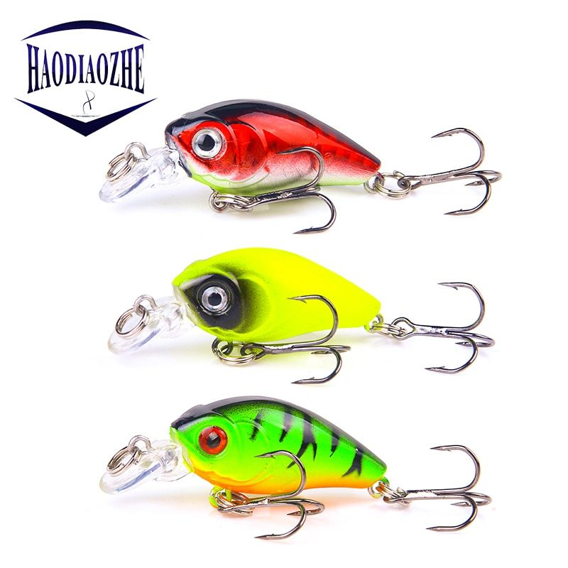3D Eyes Bass Tackle Deep Diving Crankbait Fishing Lures Hard Plastic Bait Crankbaits Sporting Goods