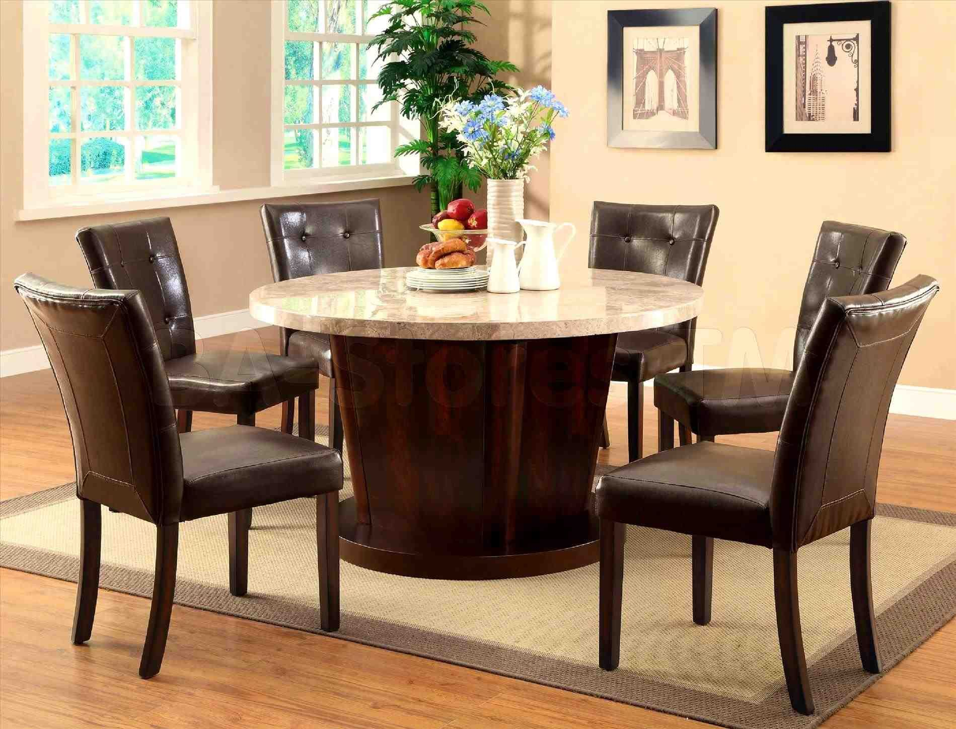 New Post Round Dining Table For 6 Dimensions  Decors Ideas Interesting Kitchen Table Chairs Design Inspiration
