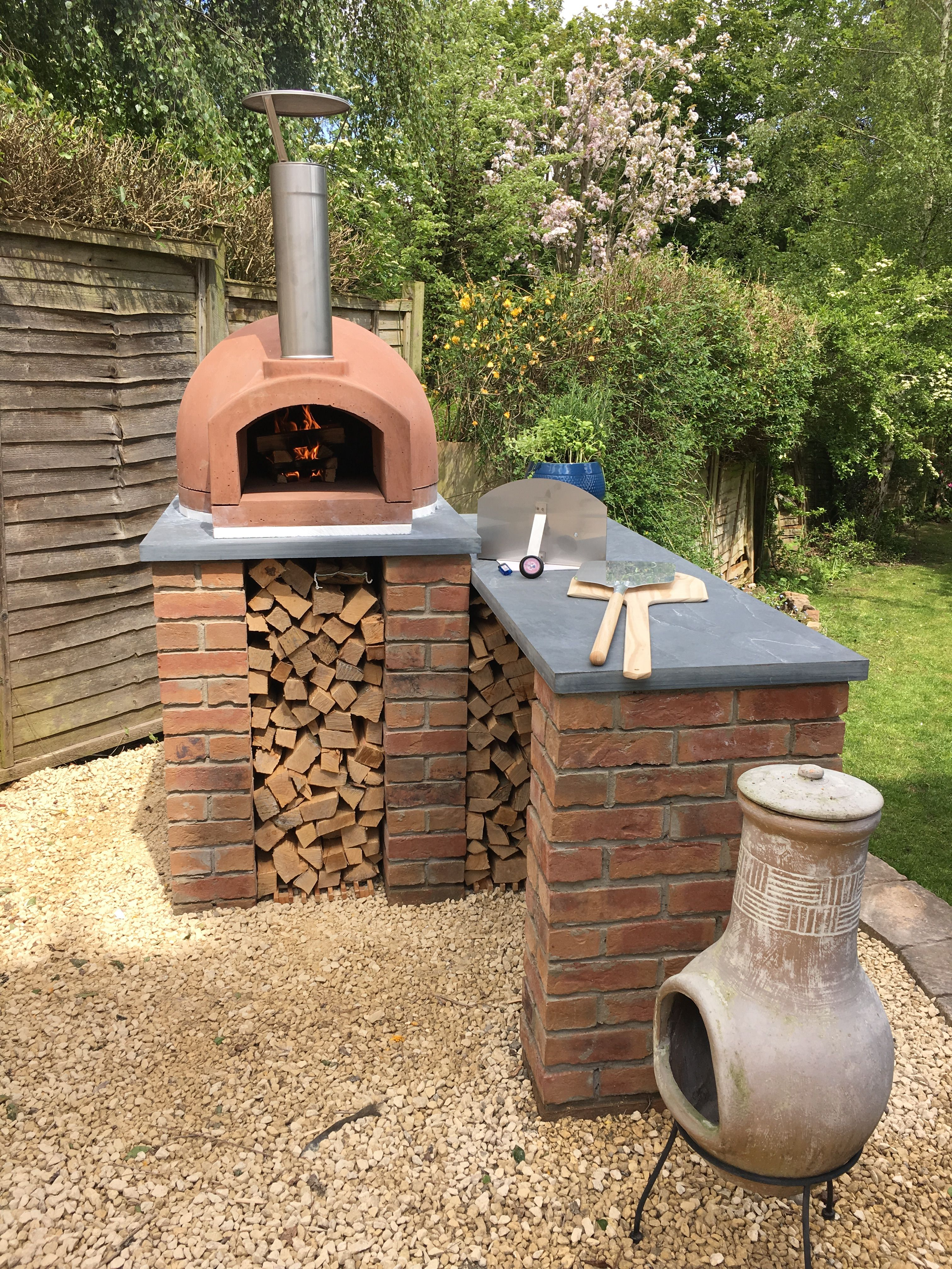 Pin by Ed Kaminski on Wood fired oven in 2020   Diy pizza
