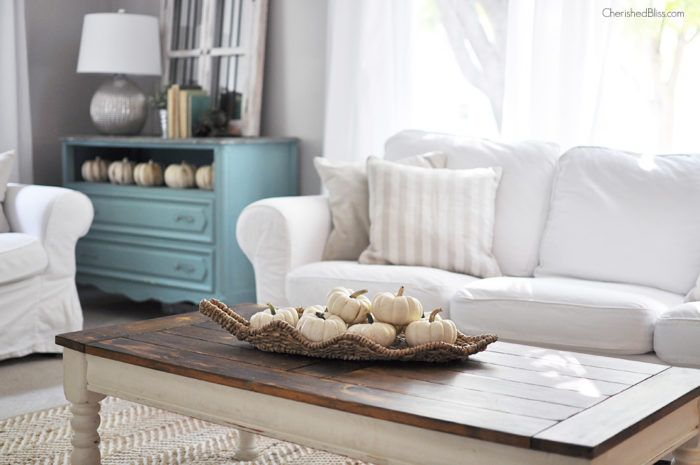 Fall Home Tour 2015 Fall Living Room Decor Autumn Home