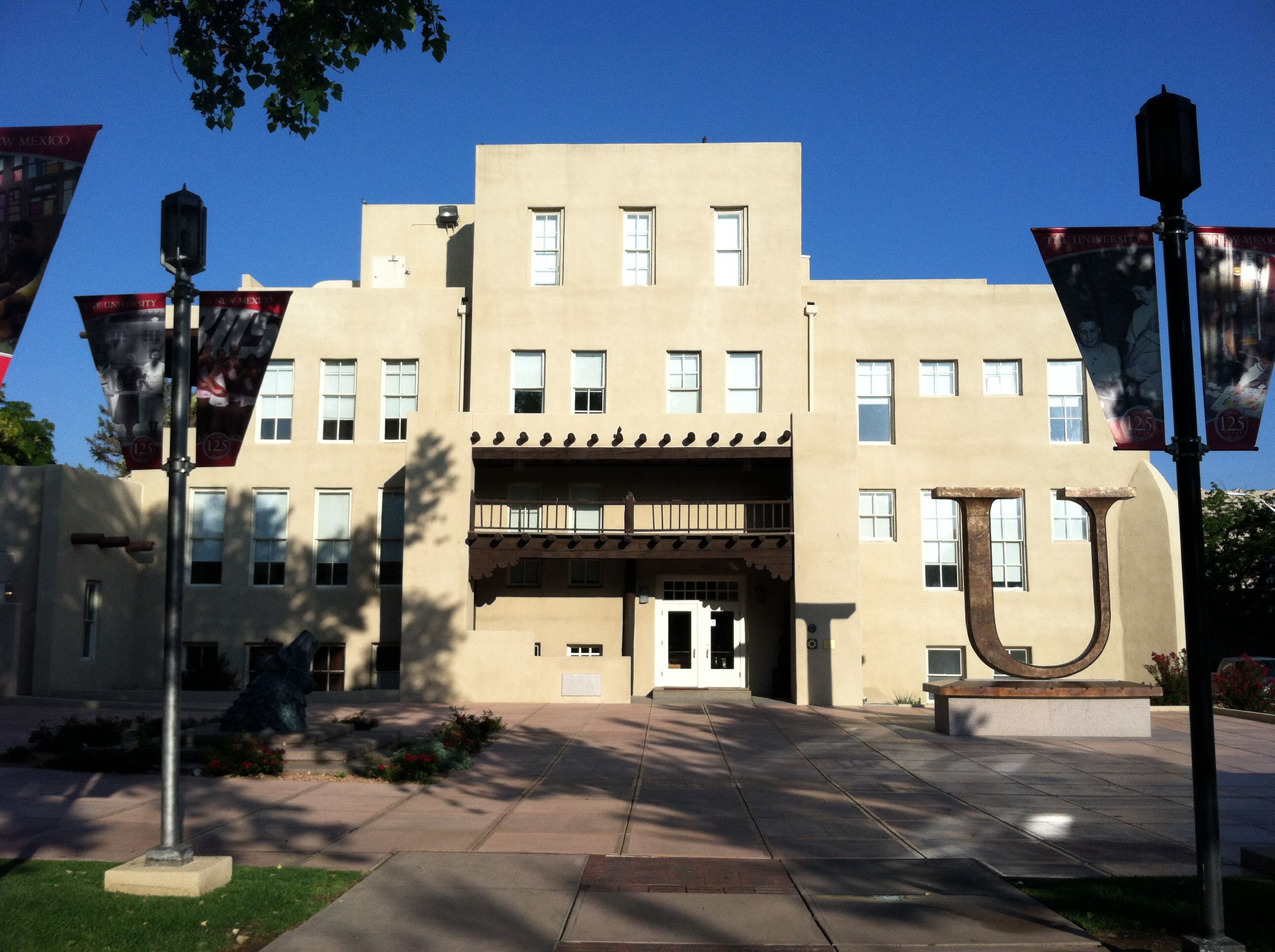 Hodgin Hall With Images House Styles University Of New Mexico