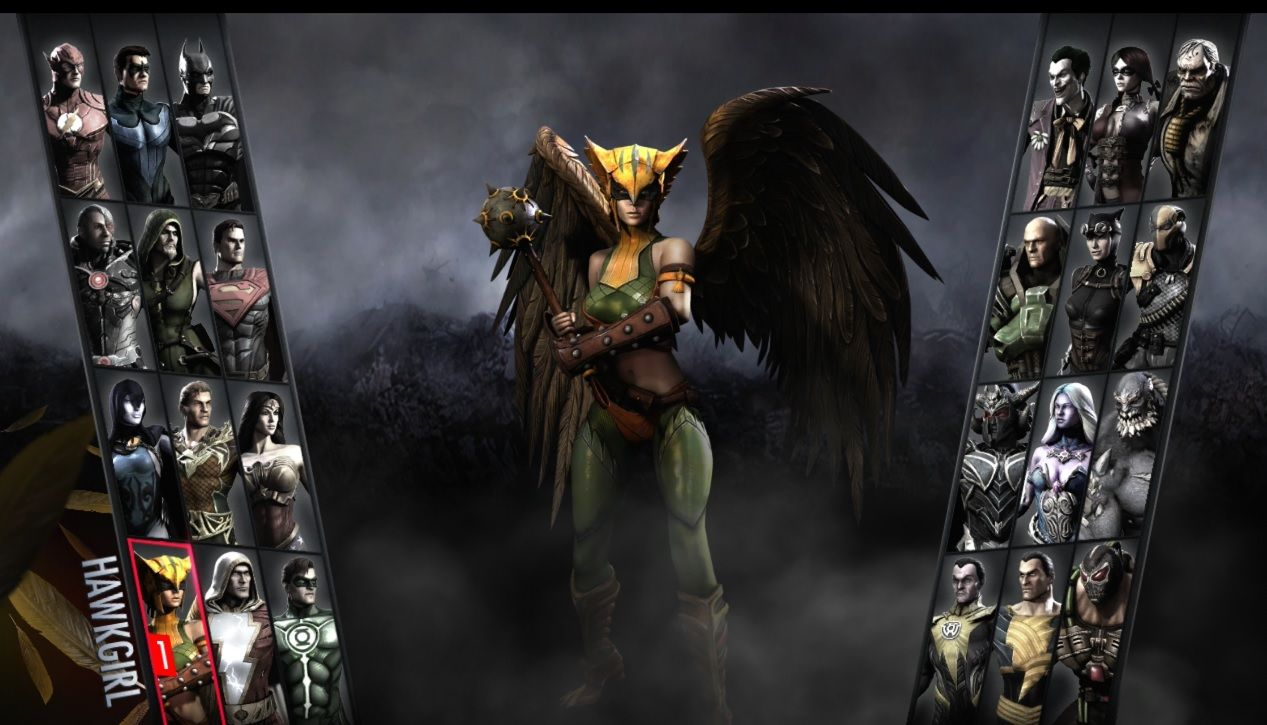 Injustice gods among us hawkgirl character guide