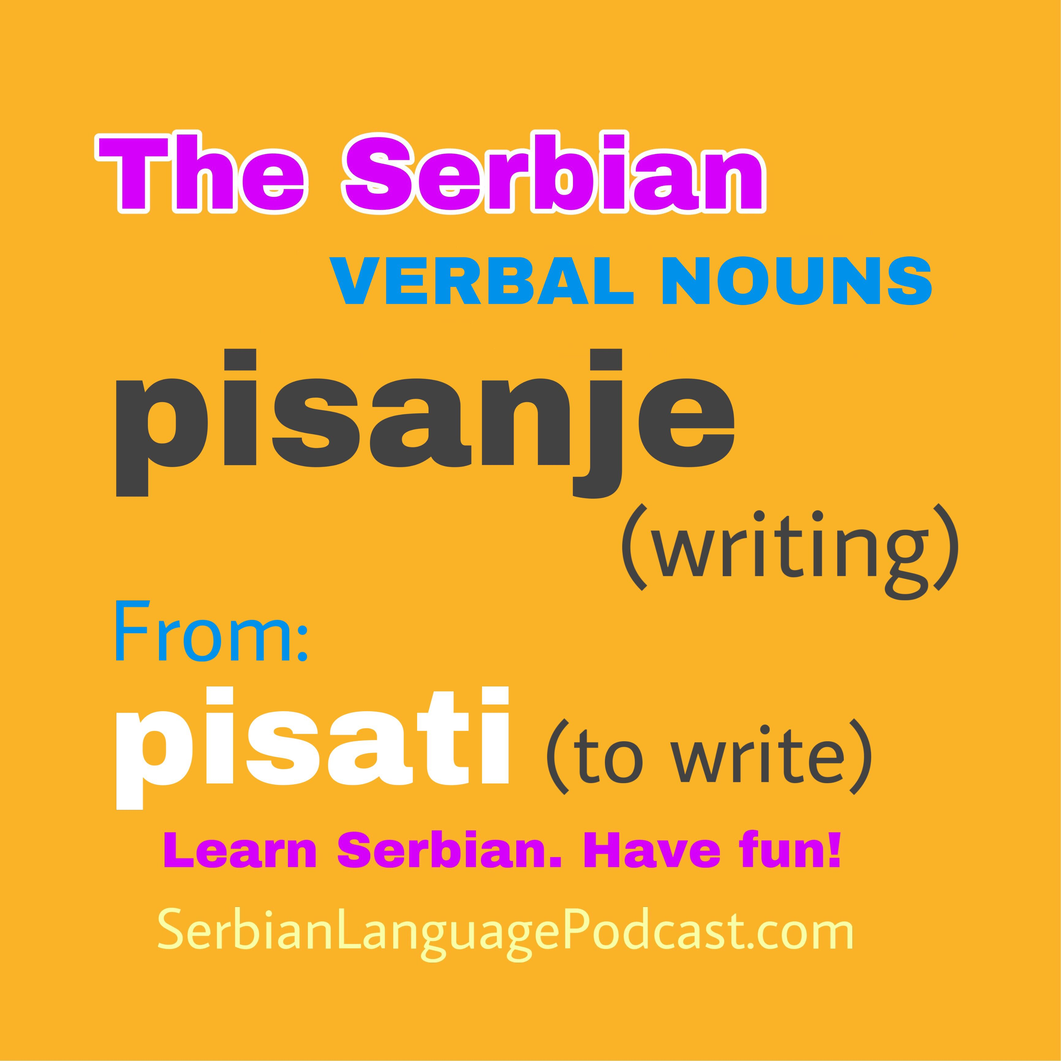 Pin By Serbian Language Podcast On Learn Serbian Words