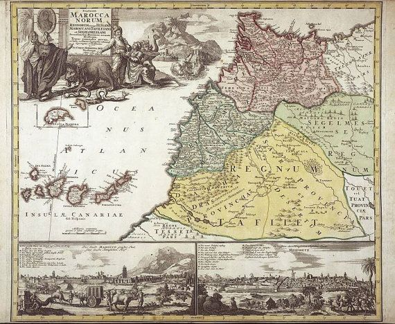 Antique world maps Old World Map illustration by mapsandposters - copy world map africa continent