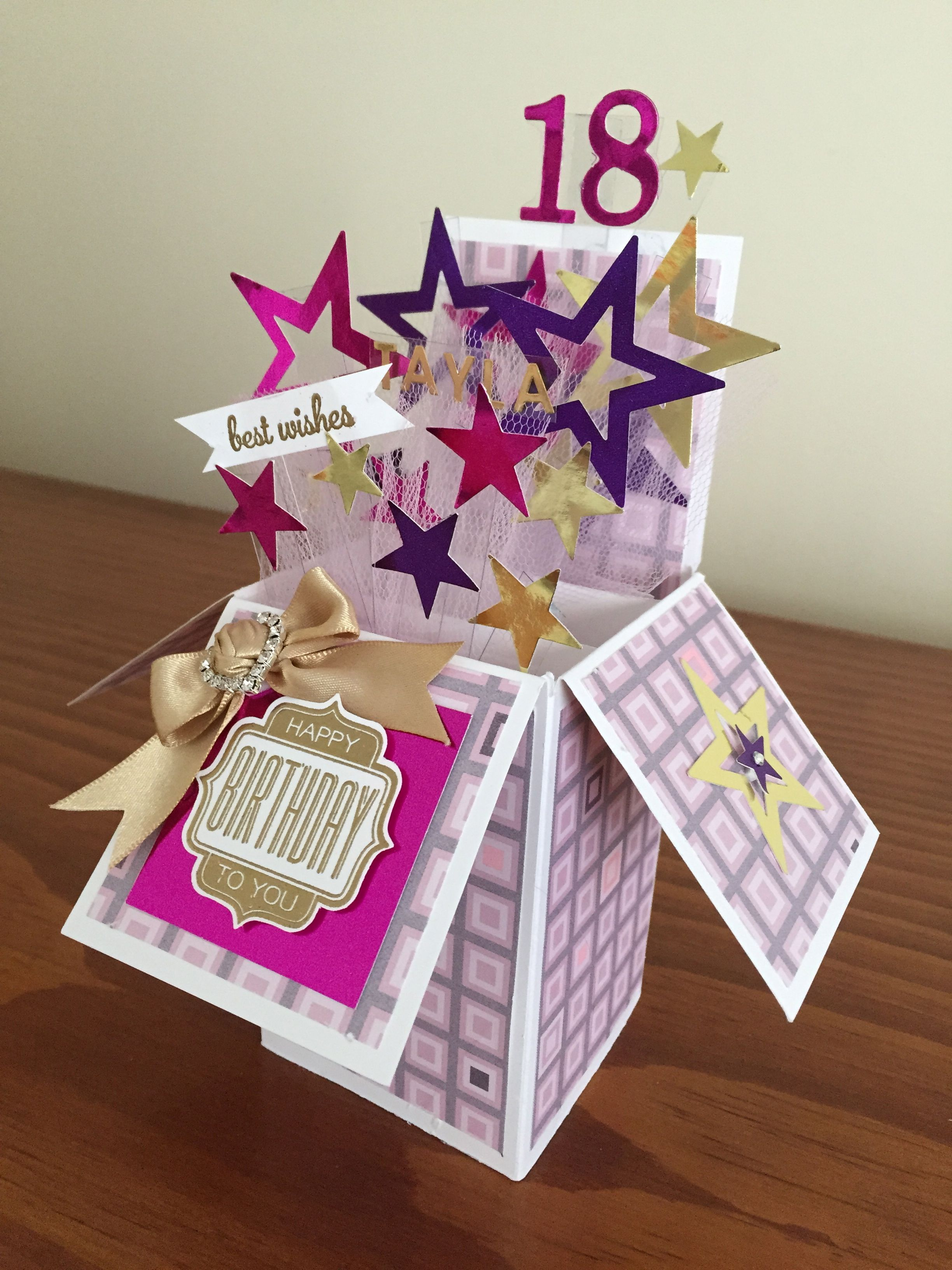 Pin By Aisha Mohammed On Card In A Box With Images Box Cards