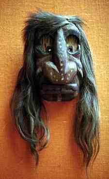 false face masks | artist name iroquois anonymous title false face