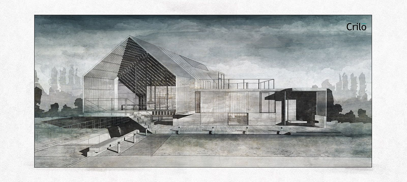 Architectural Watercolors By Atelier Crilo 3d Architectural
