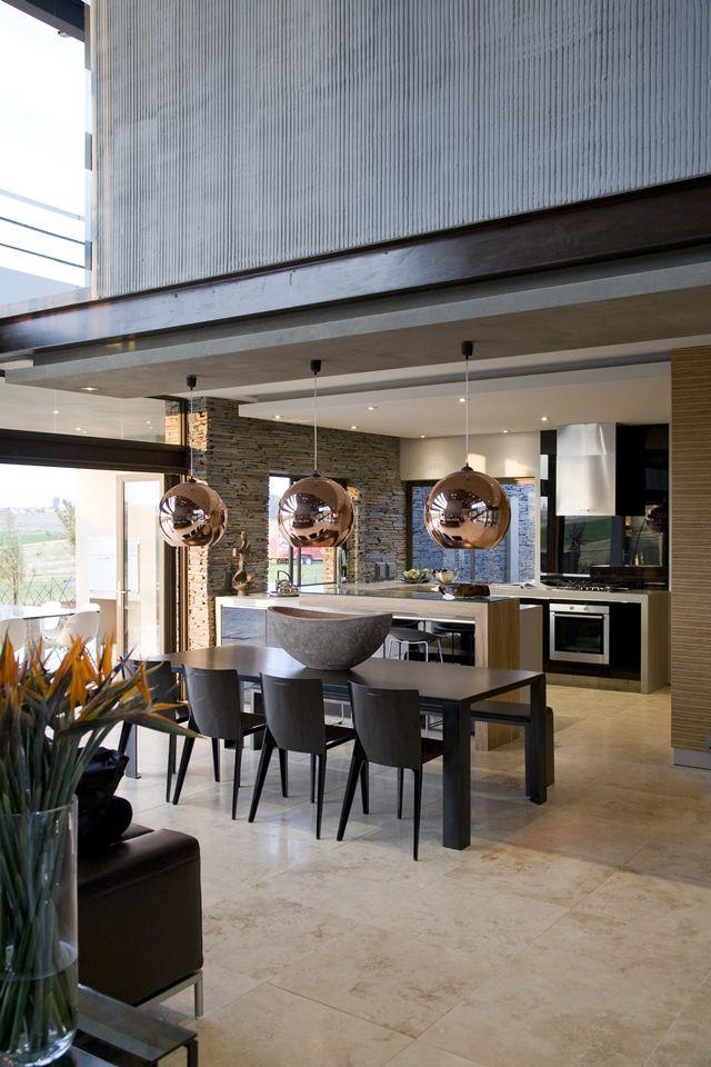 Modern Interior Modern Mansion In South Africa Contemporary