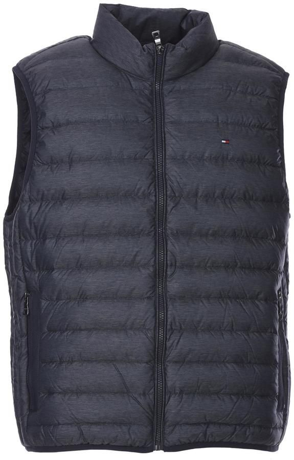 0717d3149c9 Tommy Hilfiger Lw Heather Down Vest Blue Avio