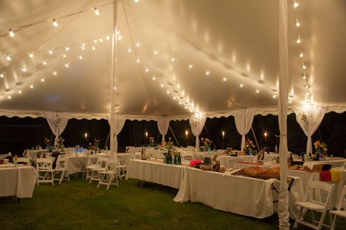 Wedding tent in backyard & Wedding tent in backyard | Wedding | Pinterest | Chicago Wedding ...