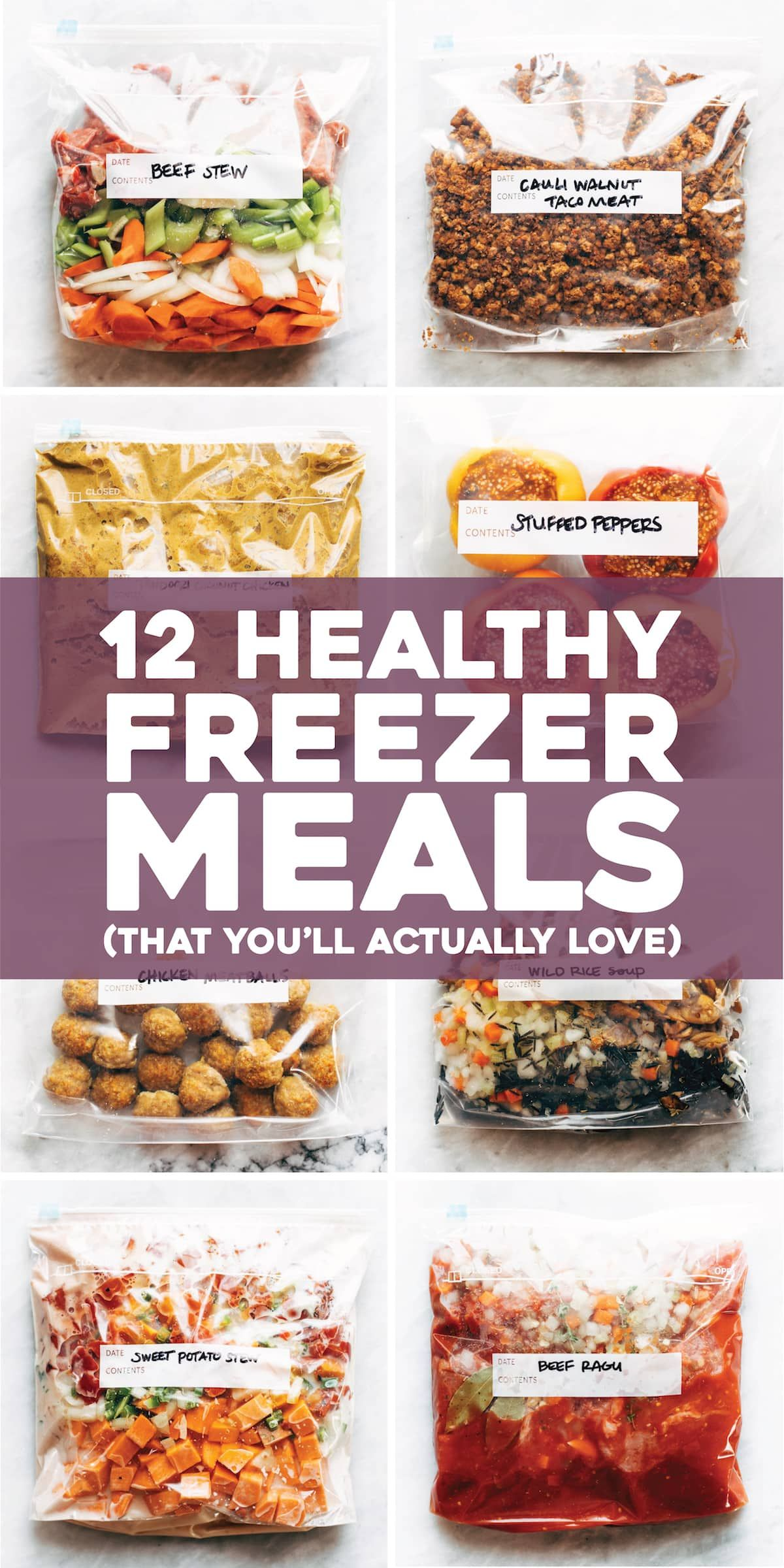 12 Healthy Freezer Meals (That You'll Actually Love images