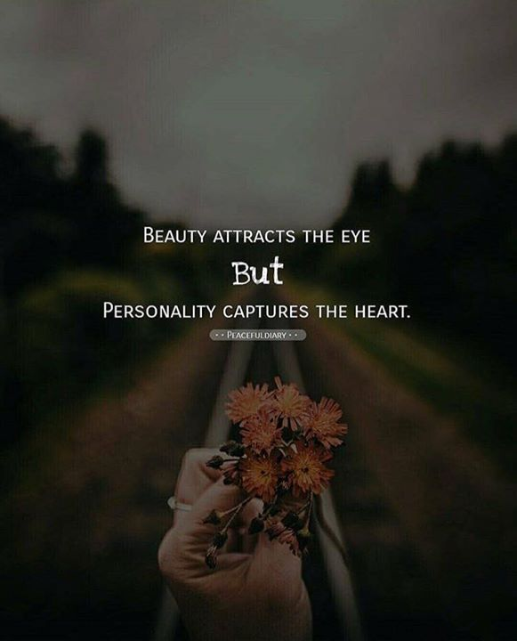 Inspirational Positive Quotes :Beauty attracts the eye..