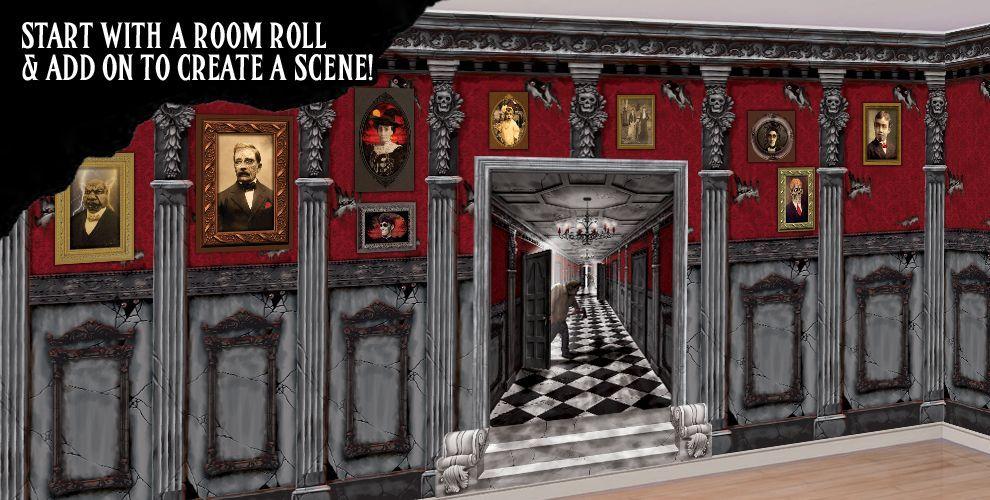 Halloween Scene Setters Room Rolls for Halloween Scenes