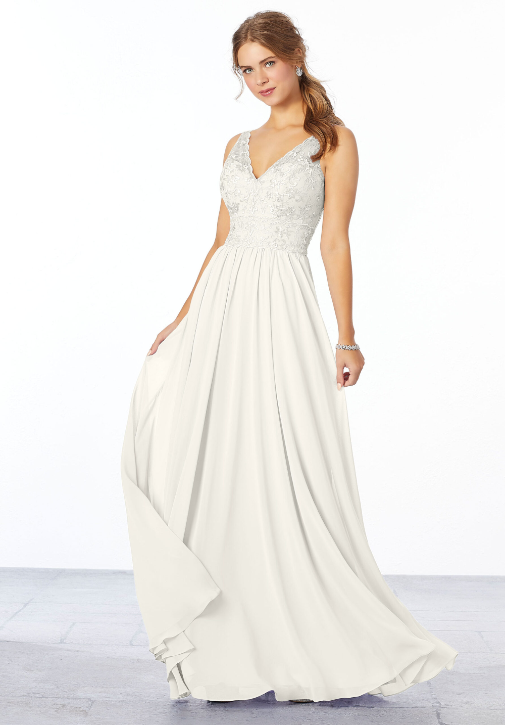 Chiffon Embriodered Bridesmaid Dress Morilee Dresses Bridesmaid Dresses Chiffon Bridesmaid [ 1434 x 1000 Pixel ]