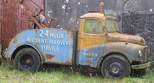 Austin Recovery Truck Tow Truck Trucks Old Lorries