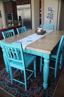 Turquoise Table Refurbished Kitchen Tables Turquoise Kitchen Tables Turquoise Table