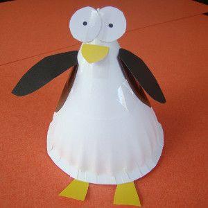 Paper Plate Penguin | crafts | Penguin craft, Animal crafts for kids