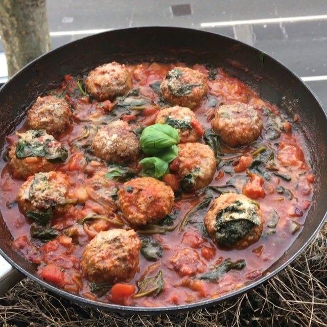 turkey meatballs with feta joe wicks