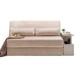 Seat Packing Sofa Bed Beige Modern Sleeper Sofa Bed Nyfu