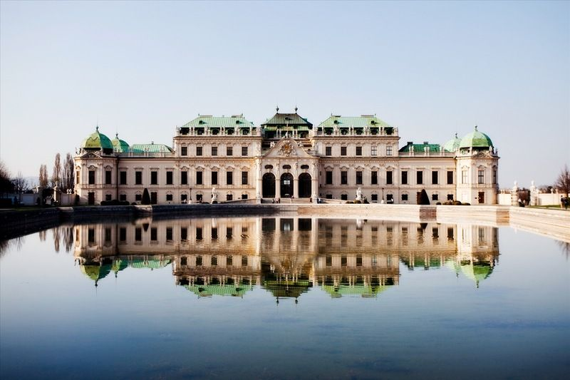 Vieden Belvedere Places To Go Europe Tours Around The Worlds