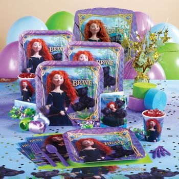 Disney Brave Basic Party Pack for 8 in September 2012 from Birthday Express on shop.CatalogSpree.com, my personal digital mall.